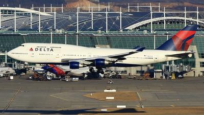 N662US - Boeing 747-451 - Delta Air Lines