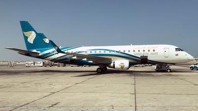 A picture of A4OEC - Embraer E175AR - Oman Air - © airnails