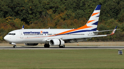 A picture of OKTVH - Boeing 7378Q8 - Smartwings - © Claude Davet