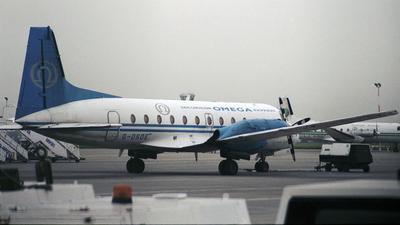 G-OSOE - Hawker Siddeley HS-748 Series 2A - Emerald Airways