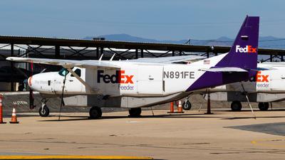 N891FE - Cessna 208B Super Cargomaster - FedEx Feeder (West Air)