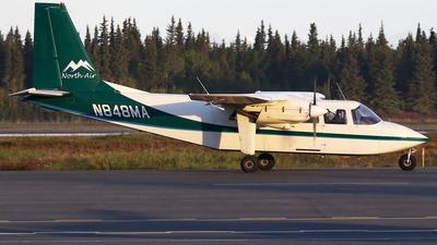 N848MA - Britten-Norman BN-2B-20 Islander - NorthAir