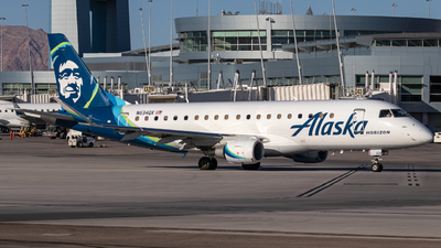 N634QX - Embraer 170-200LR - Alaska Airlines (Horizon Air)