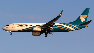 A picture of A4OBH - Boeing 73781M - Oman Air - © Bora Polater