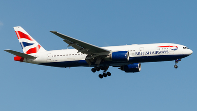 A picture of GYMMP - Boeing 777236(ER) - British Airways - © Lucas Ho