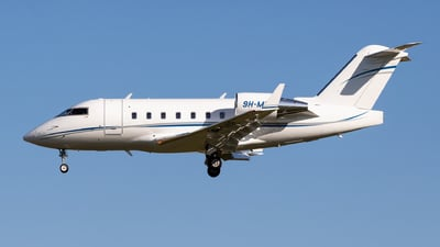 9H-MIR - Bombardier CL-600-2B16 Challenger 604 - Hifly Malta