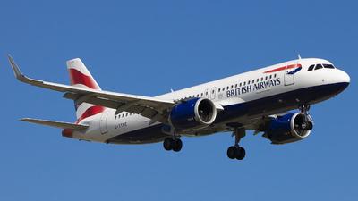 G-TTNC - Airbus A320-251N - British Airways