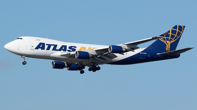 N418MC - Boeing 747-47UF(SCD) - Atlas Air