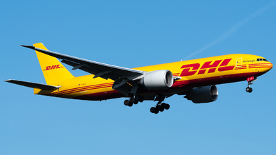A picture of DAALL - Boeing 777F - DHL - © Thomas Ernst