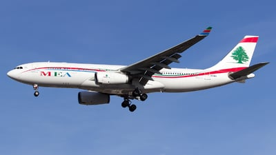OD-MEC - Airbus A330-243 - Middle East Airlines (MEA)
