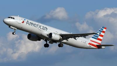 N161UW - Airbus A321-211 - American Airlines