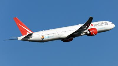 VQ-BGP - Boeing 777-31HER - Royal Flight