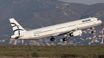 SX-DNG - Airbus A321-231 - Aegean Airlines