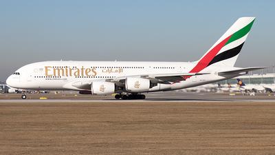 A6-EOI - Airbus A380-861 - Emirates