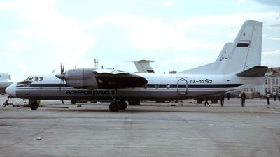 RA-47193 - Antonov An-24B - Aeroflot