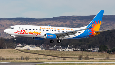 A picture of GJZBD - Boeing 7378MG - Jet2 - © Kyle McKinlay