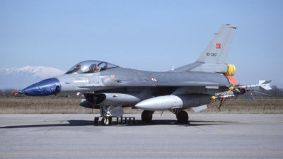 90-0017 - General Dynamics F-16C Fighting Falcon - Turkey - Air Force