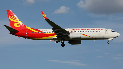 B-1375 - Boeing 737-84P - Hainan Airlines