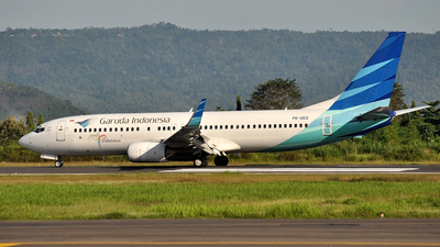 PK-GEG - Boeing 737-83N - Garuda Indonesia