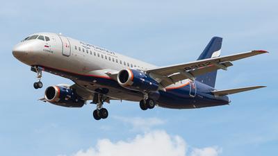 A picture of RA89027 - Sukhoi Superjet 10095B - Aeroflot - © AviaTonik