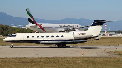 N950CM - Gulfstream G650ER - Private