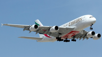 A picture of A6EUH - Airbus A380861 - Emirates - © M. Azizul Islam