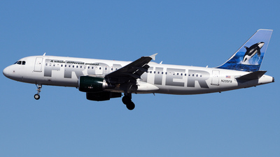 N205FR - Airbus A320-214 - Frontier Airlines