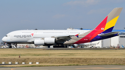HL7641 - Airbus A380-841 - Asiana Airlines