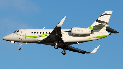 A picture of LYGVS - Dassault Falcon 2000S - Charter Jets - © Chris Pitchacaren
