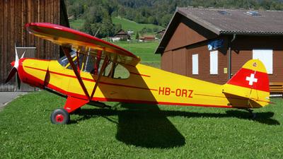 HB-ORZ - Piper PA-18-180M Super Cub - Private