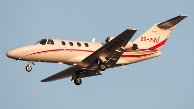 ZS-PWU - Cessna 525 Citation CJ1 - Private
