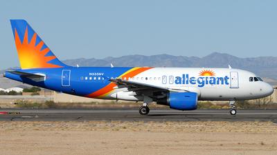 A picture of N335NV - Airbus A319111 - Allegiant Air - © Jason Whitebird
