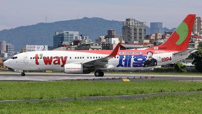 HL8235 - Boeing 737-8KG - T'Way Air