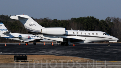 N1873 - Cessna 750 Citation X - Private