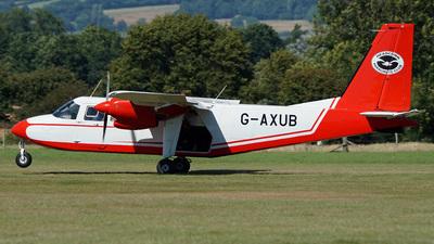 A picture of GAXUB - BrittenNorman Islander - [121] - © Simon Baker