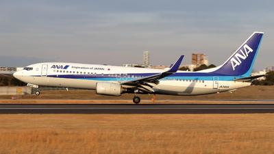 JA54AN - Boeing 737-881 - All Nippon Airways (ANA)