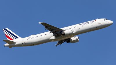 F-GMZB - Airbus A321-111 - Air France