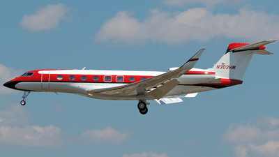 N303HM - Gulfstream G650 - Private