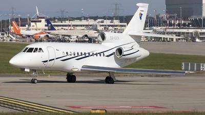 5A-DCN - Dassault Falcon 900EX - Libya - Government