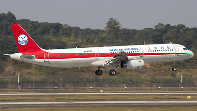 A picture of B6551 - Airbus A321231 - Sichuan Airlines - © XieTM