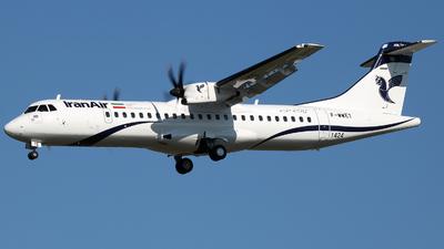 A picture of FWWET - ATR 72600 - [] - © Alberto Cucini