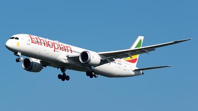 ET-AUP - Boeing 787-9 Dreamliner - Ethiopian Airlines