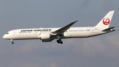 JA871J - Boeing 787-9 Dreamliner - Japan Airlines (JAL)