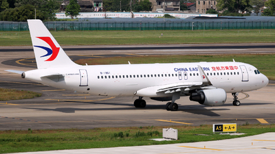 A picture of B1861 - Airbus A320214 - China Eastern Airlines - © laohan