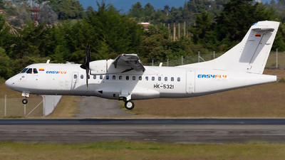 A picture of HK5321 - ATR 42600 - EasyFly - © Alex Rivera