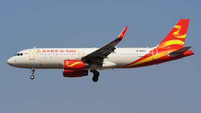 B-8663 - Airbus A320-232 - Air Guilin