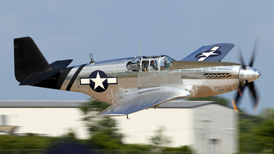 NL6555B - North American P-51C Mustang - Private
