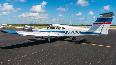 A picture of N7702B - Piper PA44180 Seminole - Skyborne Airline Academy - © valiii