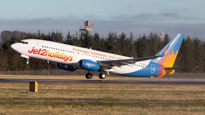 A picture of GJZHL - Boeing 7378MG - Jet2 - © Rolf Jonsen