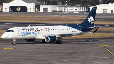 A picture of XAGAX - Embraer E190AR - Aeromexico Connect - © Brian Boche